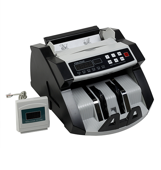 FT2040B Automatic Money Counting And Fake Note Detection Machine